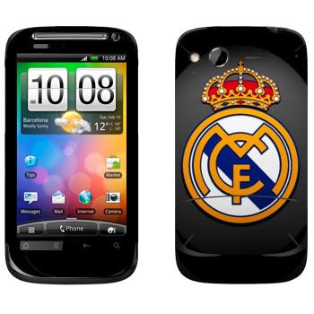 Виниловая наклейка «Real logo» на телефон HTC Desire S
