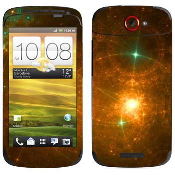 Виниловая наклейка «Звездная россыпь - Космос» на телефон HTC One S