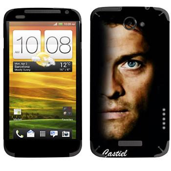 Виниловая наклейка «Кастиэль» на телефон HTC One X