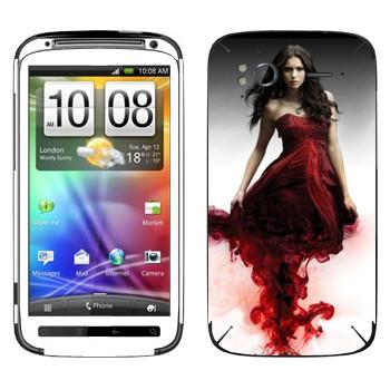 Виниловая наклейка «Кэтрин Пирс» на телефон HTC Sensation