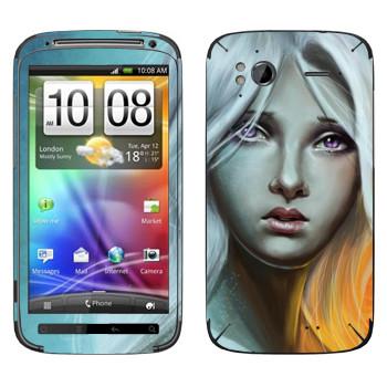 Виниловая наклейка «Таргариен» на телефон HTC Sensation