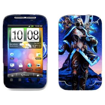 Виниловая наклейка «Chronos : Smite Gods» на телефон HTC Wildfire S