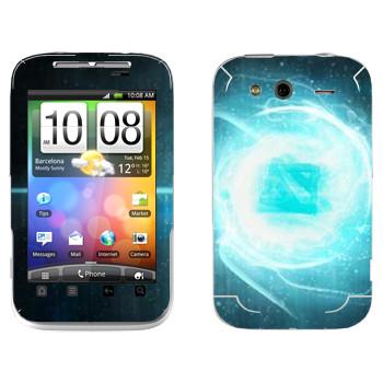 Виниловая наклейка «Dota energy» на телефон HTC Wildfire S
