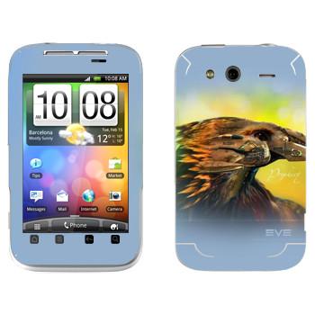 Виниловая наклейка «EVE Пророчество» на телефон HTC Wildfire S