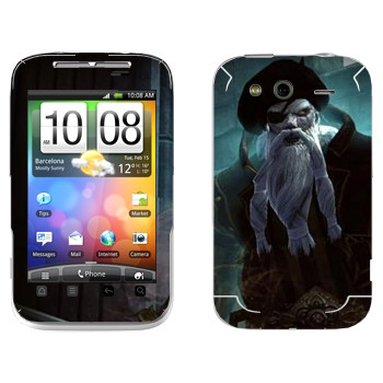 Виниловая наклейка «Neverwinter Бородатый» на телефон HTC Wildfire S