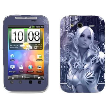 Виниловая наклейка «Тера Кастаник» на телефон HTC Wildfire S