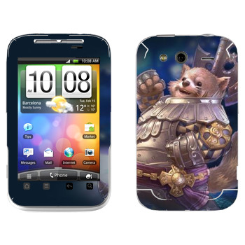 Виниловая наклейка «Tera Popori» на телефон HTC Wildfire S