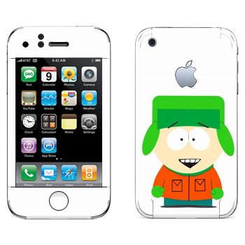 Виниловая наклейка «Кайл - Южный Парк» на телефон Apple iPhone 3G