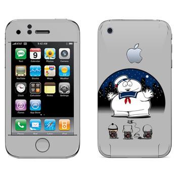 Виниловая наклейка «Охотники за привидениями - Южный Парк» на телефон Apple iPhone 3G