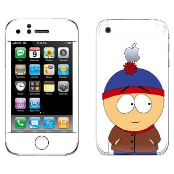 Виниловая наклейка «Стэн - Южный Парк» на телефон Apple iPhone 3G