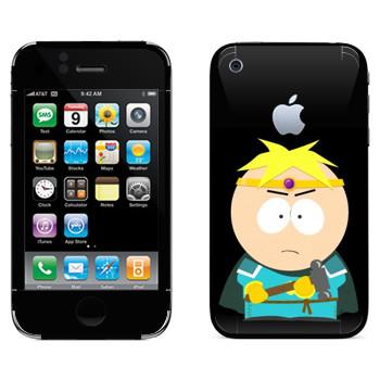 Виниловая наклейка «Тор - Южный парк» на телефон Apple iPhone 3G