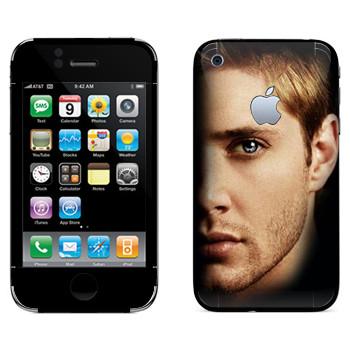 Виниловая наклейка «Дин Винчестер» на телефон Apple iPhone 3GS