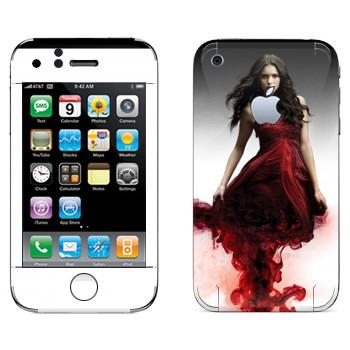 Виниловая наклейка «Кэтрин Пирс» на телефон Apple iPhone 3GS