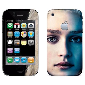 Виниловая наклейка «Королева Дейенерис Таргариен» на телефон Apple iPhone 3GS