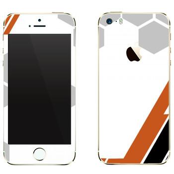 Виниловая наклейка «Игровая абстракция» на телефон Apple iPhone 5