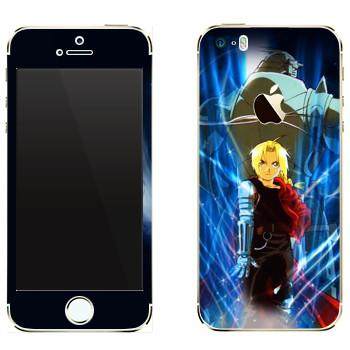 Виниловая наклейка «Элрики» на телефон Apple iPhone 5