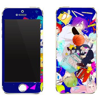 Виниловая наклейка «Куроко no Basket» на телефон Apple iPhone 5