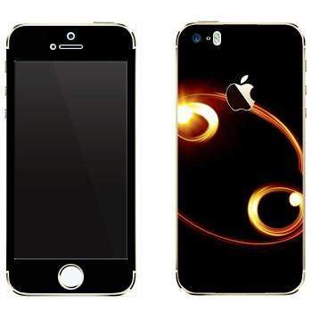 Виниловая наклейка «Знак Рак» на телефон Apple iPhone 5