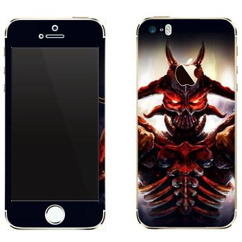 Виниловая наклейка «Ah Puch : Smite Gods» на телефон Apple iPhone 5