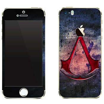 Виниловая наклейка «Assassins creed знак» на телефон Apple iPhone 5