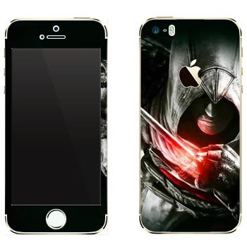 Виниловая наклейка «Assassins» на телефон Apple iPhone 5