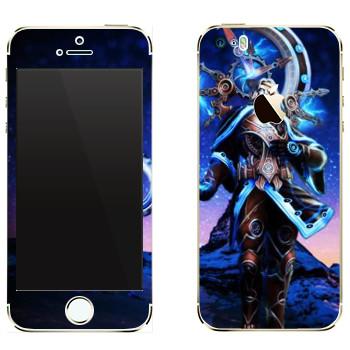 Виниловая наклейка «Chronos : Smite Gods» на телефон Apple iPhone 5