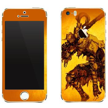 Виниловая наклейка «Dark Souls Hike» на телефон Apple iPhone 5