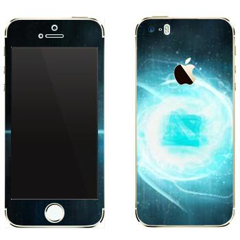 Виниловая наклейка «Dota energy» на телефон Apple iPhone 5