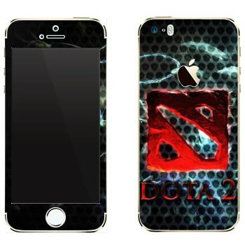 Виниловая наклейка «Dota турнир» на телефон Apple iPhone 5