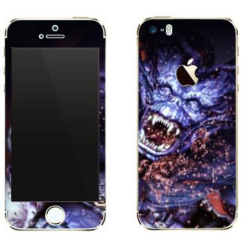 Виниловая наклейка «Dragon Age - Демон» на телефон Apple iPhone 5