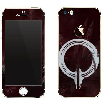 Виниловая наклейка «Dragon Age - Инквизиция» на телефон Apple iPhone 5