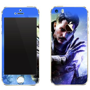 Виниловая наклейка «Dragon Age - Маг» на телефон Apple iPhone 5