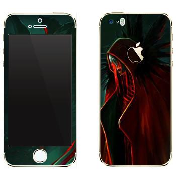 Виниловая наклейка «Dragon Age - Тьма» на телефон Apple iPhone 5