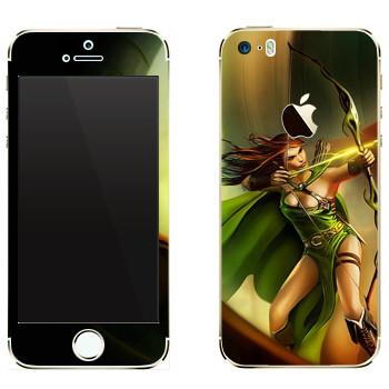 Виниловая наклейка «Drakensang archer» на телефон Apple iPhone 5