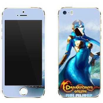 Виниловая наклейка «Drakensang Atlantis» на телефон Apple iPhone 5