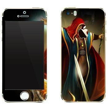 Виниловая наклейка «Drakensang disciple» на телефон Apple iPhone 5
