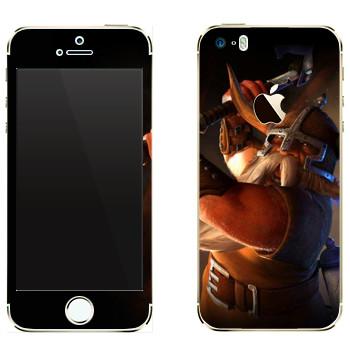 Виниловая наклейка «Drakensang gnome» на телефон Apple iPhone 5