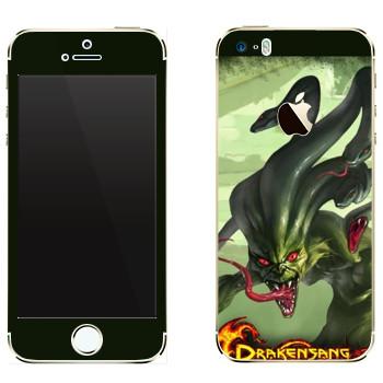 Виниловая наклейка «Drakensang Gorgon» на телефон Apple iPhone 5