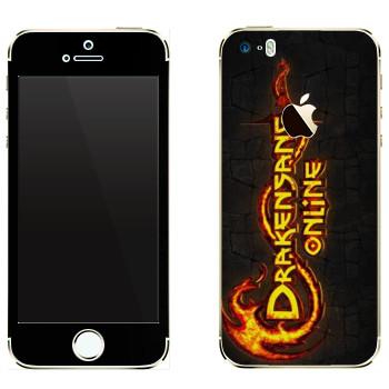 Виниловая наклейка «Drakensang logo» на телефон Apple iPhone 5