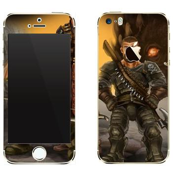 Виниловая наклейка «Drakensang pirate» на телефон Apple iPhone 5