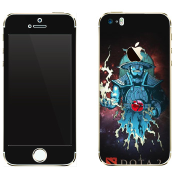 Виниловая наклейка «Дух Бури - Dota 2» на телефон Apple iPhone 5