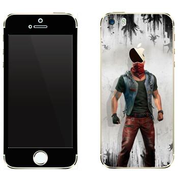Виниловая наклейка «Dying Light - Кайл Крейн» на телефон Apple iPhone 5