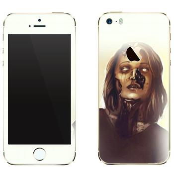 Виниловая наклейка «Dying Light - мама зомби» на телефон Apple iPhone 5
