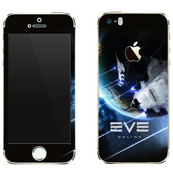 Виниловая наклейка «EVE Армада» на телефон Apple iPhone 5