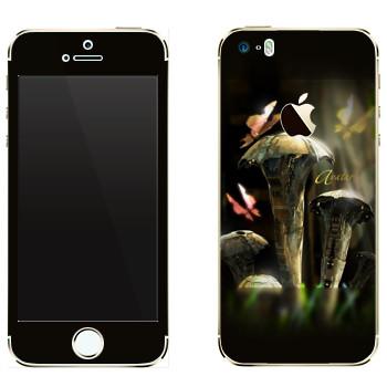 Виниловая наклейка «EVE Аватар» на телефон Apple iPhone 5