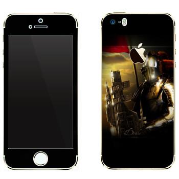Виниловая наклейка «EVE Дрейк» на телефон Apple iPhone 5