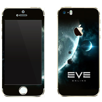 Виниловая наклейка «EVE игры» на телефон Apple iPhone 5