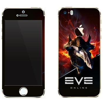 Виниловая наклейка «EVE Левиафан» на телефон Apple iPhone 5