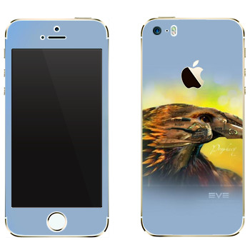 Виниловая наклейка «EVE Пророчество» на телефон Apple iPhone 5