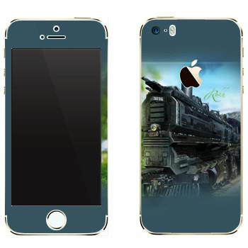 Виниловая наклейка «EVE Rokh» на телефон Apple iPhone 5
